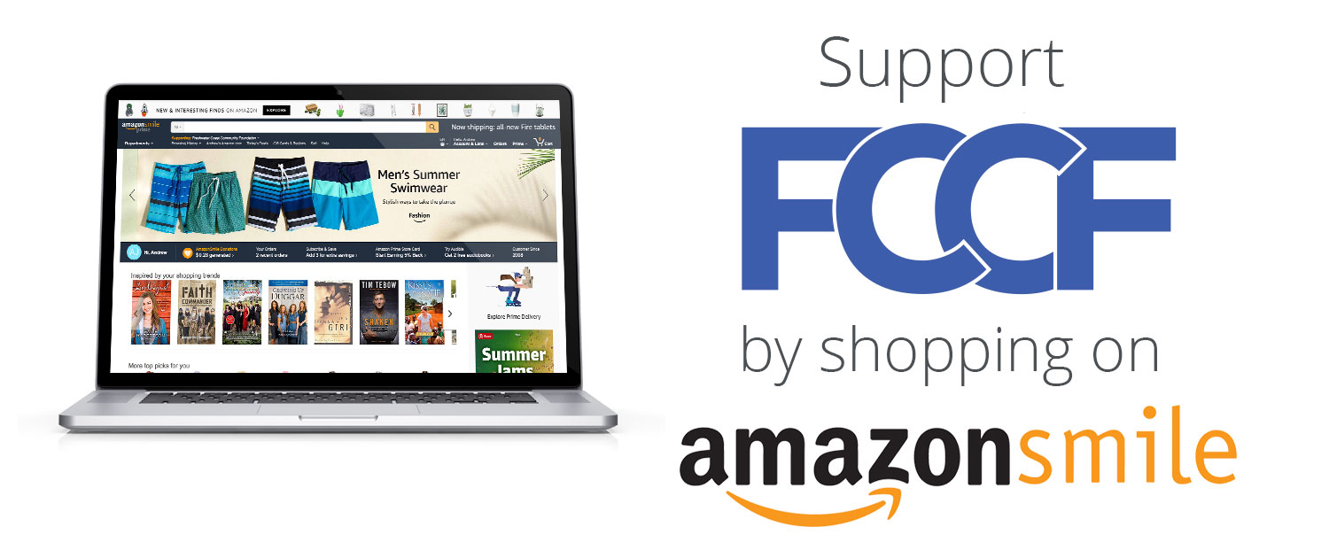 Select FCCF on Amazon Smile