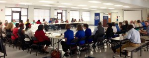 The community of McCormick County excitedly discusses the potential of local businesses and how to improve McCormick through new local businesses and new strategies of promotion.
